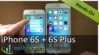 Das iPhone 6S und 6S Plus im Video: 3D Touch ausprobiert (