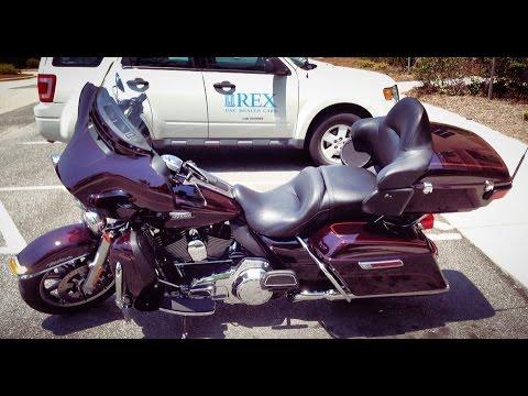 Riding through Willow Spring, NC on my 2014 Harley-Davidson Ultra