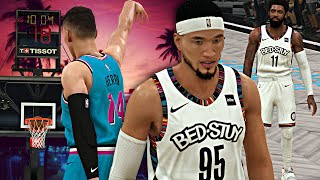 TYLER HERRO CAREER HIGH! I MISSED THE GAME WINNER?! NBA 2K20 LVP Career #6