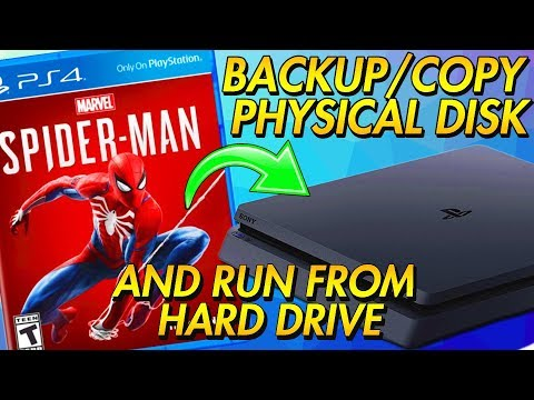 How To Copy Disc Games To PS4 (How To Backup Disc Games PS4) PlayStation 4 Jailbreak
