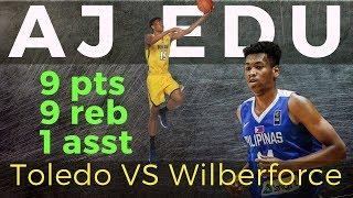 AJ Edu Game Review | Toledo Rockets VS Wilberforce NCAA Basketball Division 1