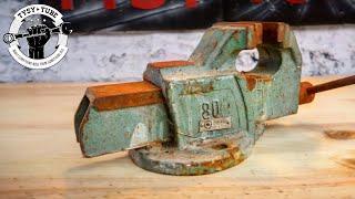 Rusty Old Vise Restoration