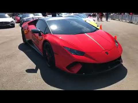 Pit walk at the SilverCrest Super Car Insurance Brokers exotic pits