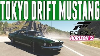 Forza Horizon 2 Fast & Furious Drift Build : Sean's Mustang Drift Build