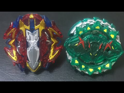 Beyblade Burst Turbo Breaker Xcalius X4 vs Hazard Kerbeus K4