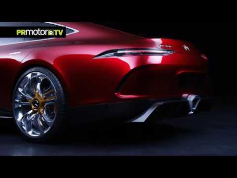 El nuevo Mercedes-AMG GT Concept al detalle – Material Completo en PRMotor TV Channel