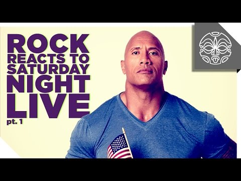 The Rock Reacts to his Favorite Sketches from Saturday Night Live: PART 1