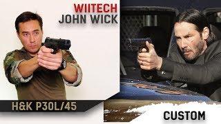 Кит от WII Tech на пистолет из фильма John Wick для H&K45