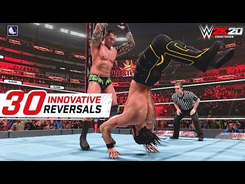 WWE 2K19 Top 30 Most Innovative Reversals in the game |