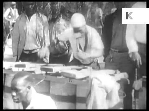 1930s South Africa, Tribal Dancing, Archive Footage