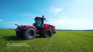 КИРОВЕЦ К-744 - новый энергонасыщенный трактор 8-го тягового класса.