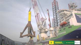 Verbrugge Terminals Load-out Tripods Global Tech 1