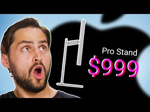 Why Does Apple's Monitor Stand Cost $999? - Monitor Stands Explained