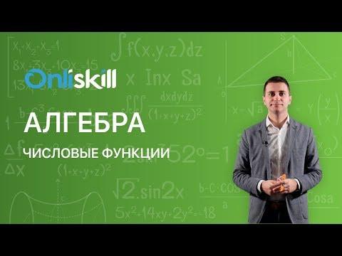 Видеоурок алгебра числовые функции