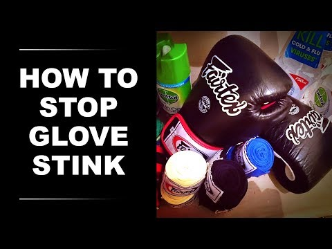 How to Clean Smelly Boxing Gloves