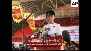THAILAND: BURMA'S POLITICAL SITUATION TO BE DISCUSSED AT ASEAN '96'