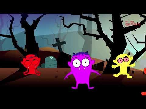 Halloween Funny ;happy Halloween Хэллоуин Песни Страшный Трек Дети Хэллоуин Детские Риф  Episode 35