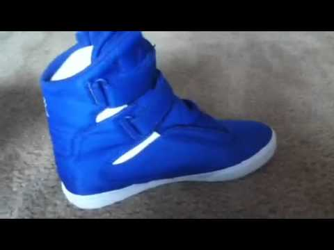 Supra Society (Royal Blue/White)