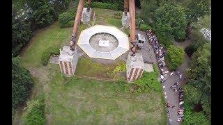Giant Frisbee - Sledge Hammer (Onride) Video Bobbejaanland Lichtaart 2017