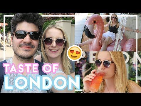 Taste Of London Food Festival 😍 | London VLOG 2017 #5 Becky Excell
