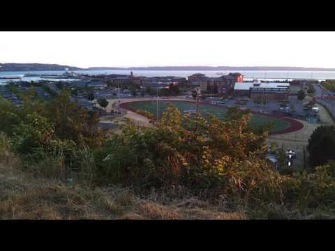 Grand Avenue Park, Naval Station Everett, Reveille, and Everett Marina, Washington, July 17, 2017