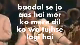 Aa Gale Lag Ja Mere Sapne-Karaoke & Lyrics-April Fool(1964)