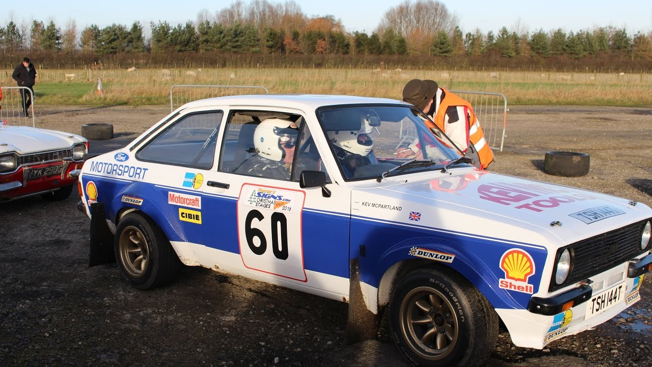 Ford Escort mk1 & mk2 Rally Cars - YouTube