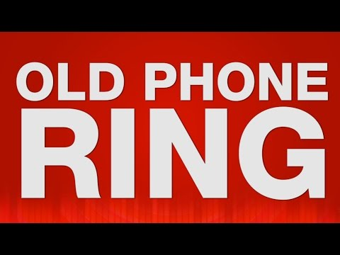 Old Phone Ring - SOUND EFFECT - Phone ringing Soundeffekt barulho altes Telefon klingeln dial phone