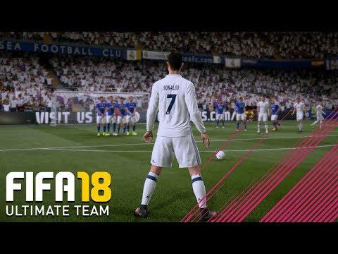 First NEW Ronaldo FIFA 18 Free Kick Gameplay