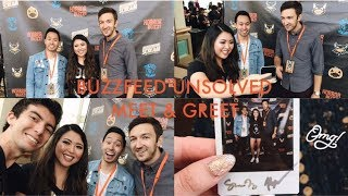 BUZZFEED UNSOLVED MEET AND GREET