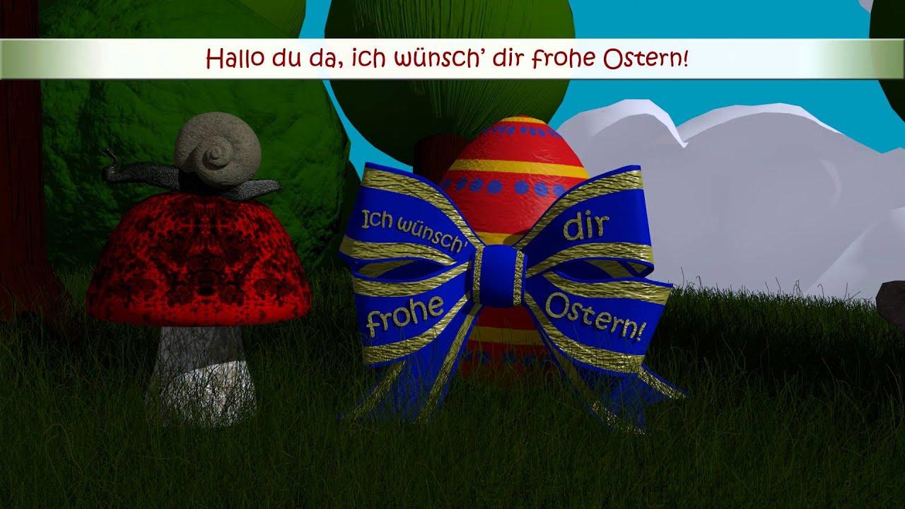 Frohe Ostern! - Das lustige Osterlied - mit Text / Lyrics ...