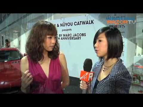 Olivia Ong @ Marc by Marc Jacobs Fashion Show Interview
