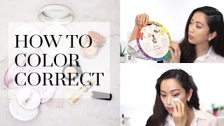 How To Color Correct To Conceal Redness, Dark Circles & Dark Spots, color correcting
