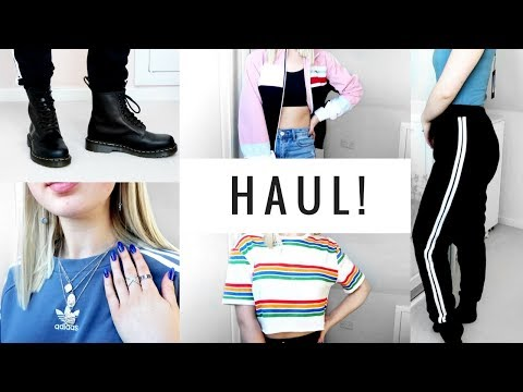 SPRING TRY ON HAUL | Topshop, Urban Outfitters, Prettylittlething & more!