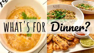 WHAT'S FOR DINNER | INSTANT POT RECIPE | ONE PAN MEALS | LIVING IN THE MOM LANE