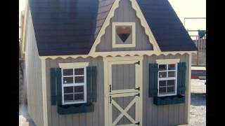 Portable Girl & Boy Wooden Playhouse Ideas