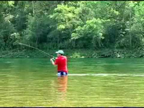 2008 Trout Fishing On The Norfork River In Arkansas