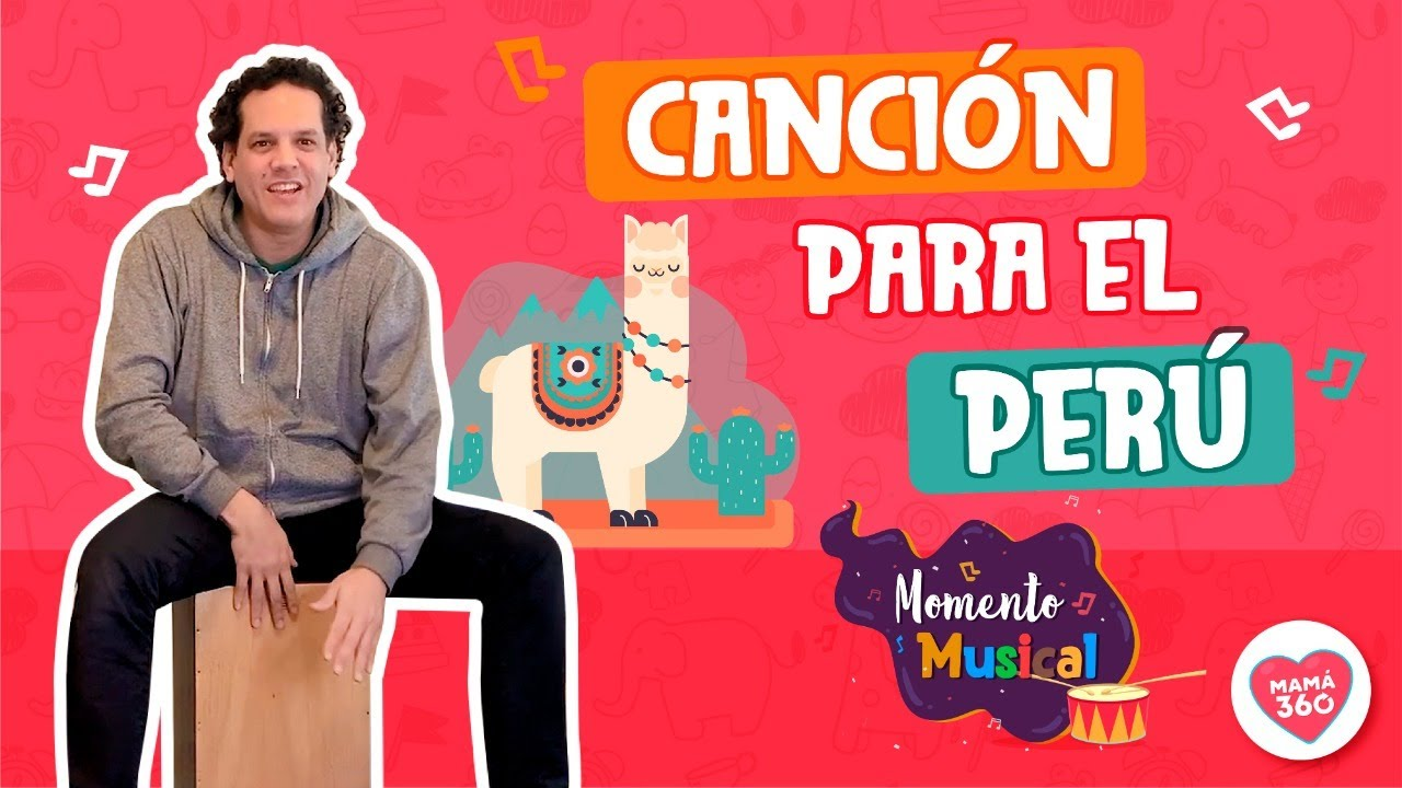 🤗👩👧🎶 Momento Musical 🤗👩👧🎶 CANTEMOS al PERÚ 🙂 (Semana 9)