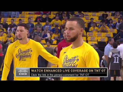 Western Conference Finals Pregame Coverage - Rockets vs. Warriors Game 3