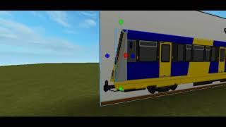 a partire Roblox alla costruzione che doveva essere ora DLR con EVAG Stock P86 & P89