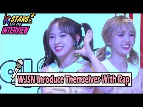 [CONTACT INTERVIEW★] WJSN Interview With Rap After Performing Comeback Stage 20170611