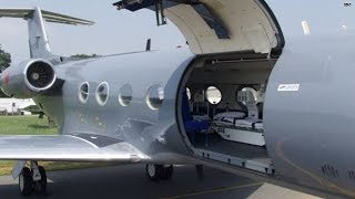 Inside the plane carrying Ebola patients to U.S.