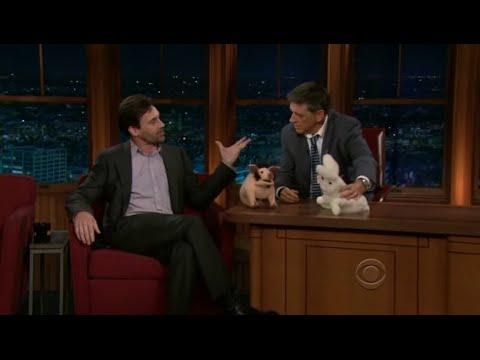 Late Late Show with Craig Ferguson 9/23/2010 Jon Hamm, Jonathan Ames