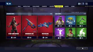 Fortnite Item Shop May 1st New Boy Luxe Skin