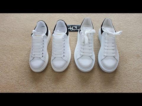 8c9220c8d0c HOW TO LEGIT CHECK Alexander McQueen Oversized Sneakers Real vs Fake Alexander  Mcqueen Review - YouTube