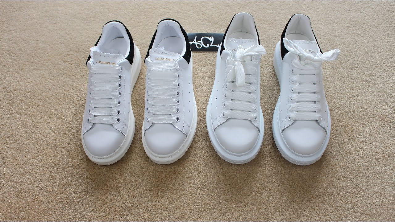 75431491f82 HOW TO LEGIT CHECK Alexander McQueen Oversized Sneakers Real vs Fake Alexander  Mcqueen Review