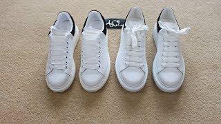 HOW TO LEGIT CHECK Alexander McQueen Oversized Sneakers Real vs Fake Alexander Mcqueen Review