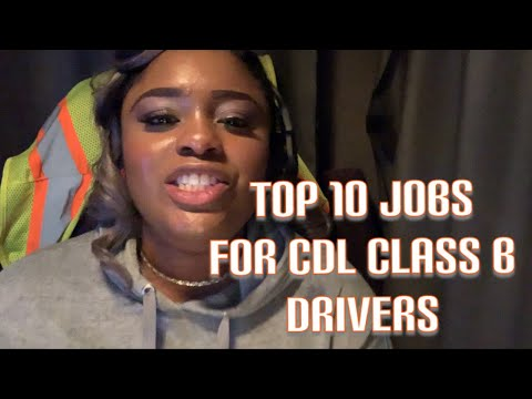 Trucking: Top 10 Best Jobs you can Get With Class B CDL