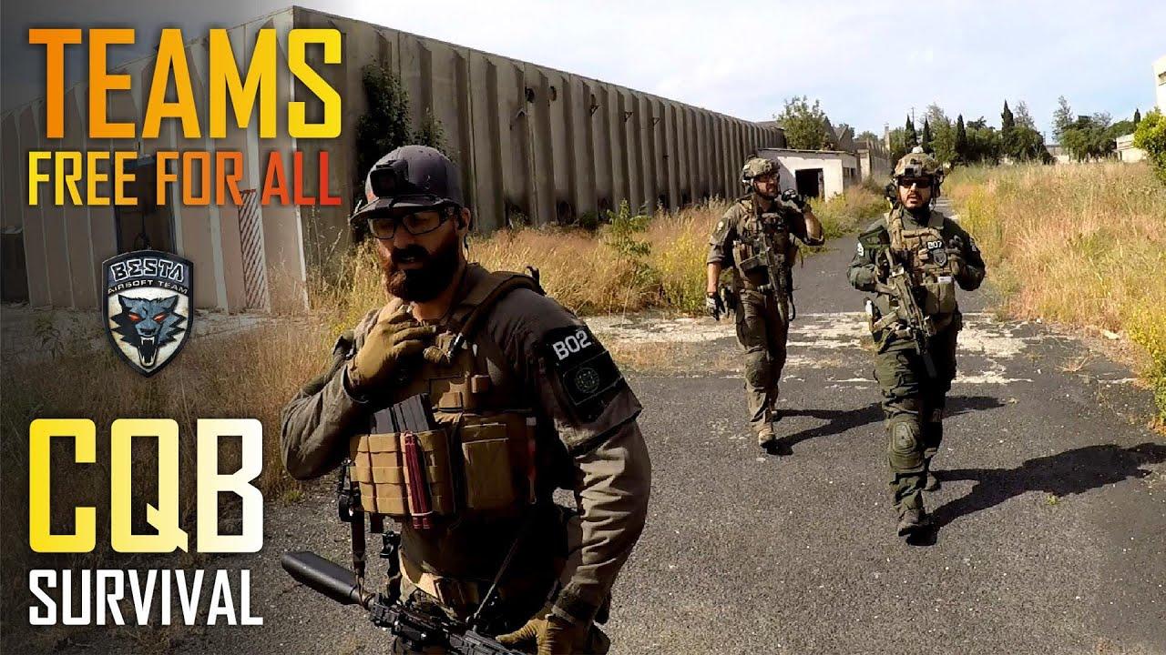 Teams Free for All [ CQB Survival ] [ GBLS GDR 15 ]