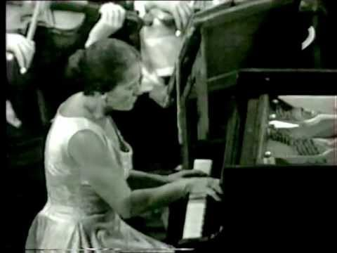 Annie Fischer plays Schumann: Klavierkonzert a-minor  video! full!